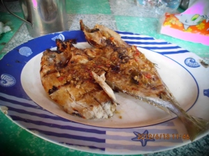 Grilled Lamor Fish