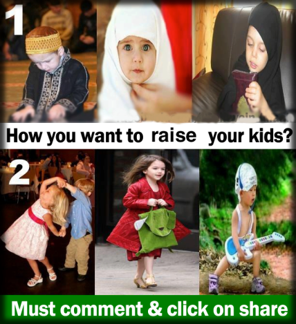 Which is your kid?
