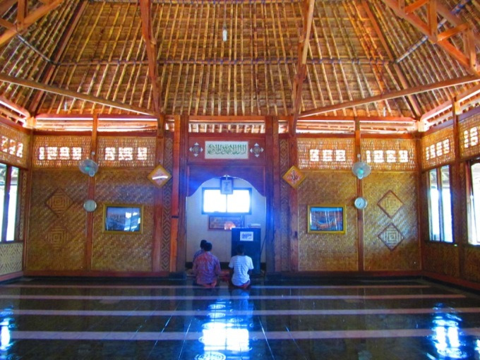 Interior of the Masjid
