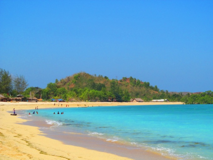 Paradise at Kuta Lombok
